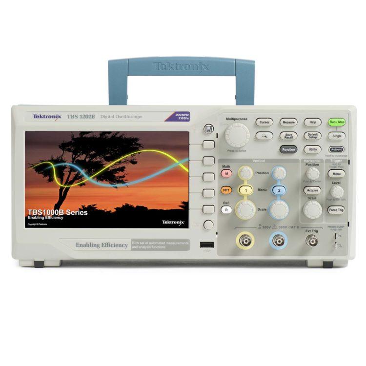 osciloscopio digital TBS1000B